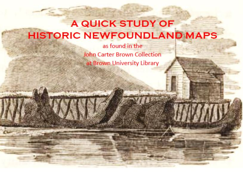 Island of Newfoundland Maps you've never seen before and more besides